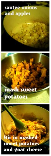 Sweet Potato Shells