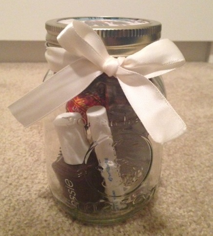 Personalized Mason Jar Gifts