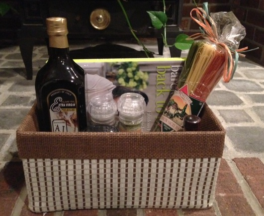Build-Your-Own Kitchen Gift Basket