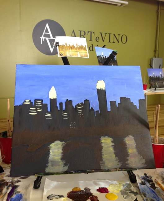 Art e Vino BYOB Painting
